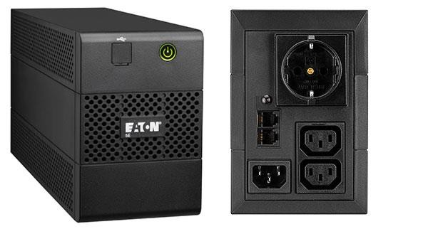 Eaton 5E 650IUSBDIN Liini-interaktiivne 650 VA 360 W