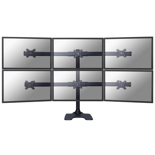 """Newstar FPMA-D700DD6 monitori kinnitus ja alus 68,6 cm (27"""") Eraldiseisev Must"""