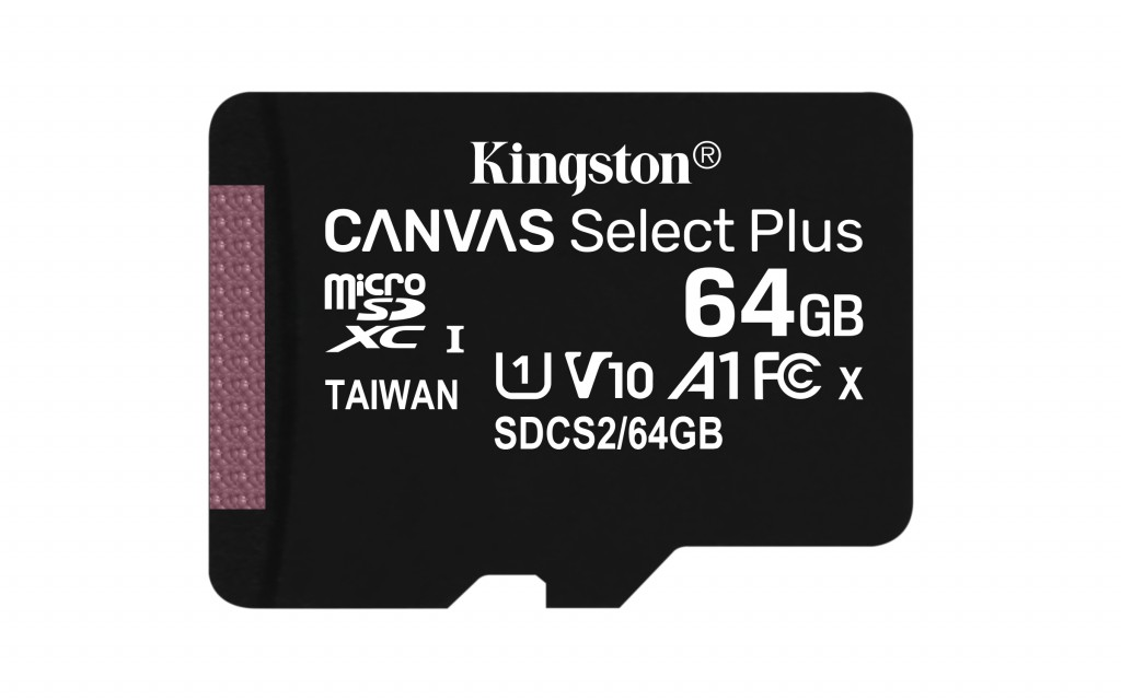 KINGSTON 64GB micSDXC Canvas Select Plus