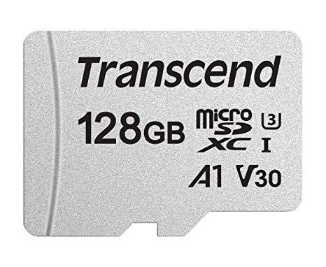 MEMORY MICRO SDXC 128GB/C10 TS128GUSD300S TRANSCEND