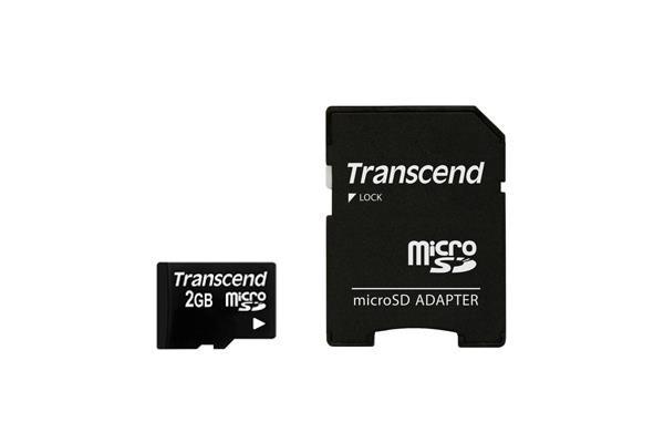 MEMORY MICRO SD 2GB/TS2GUSD TRANSCEND