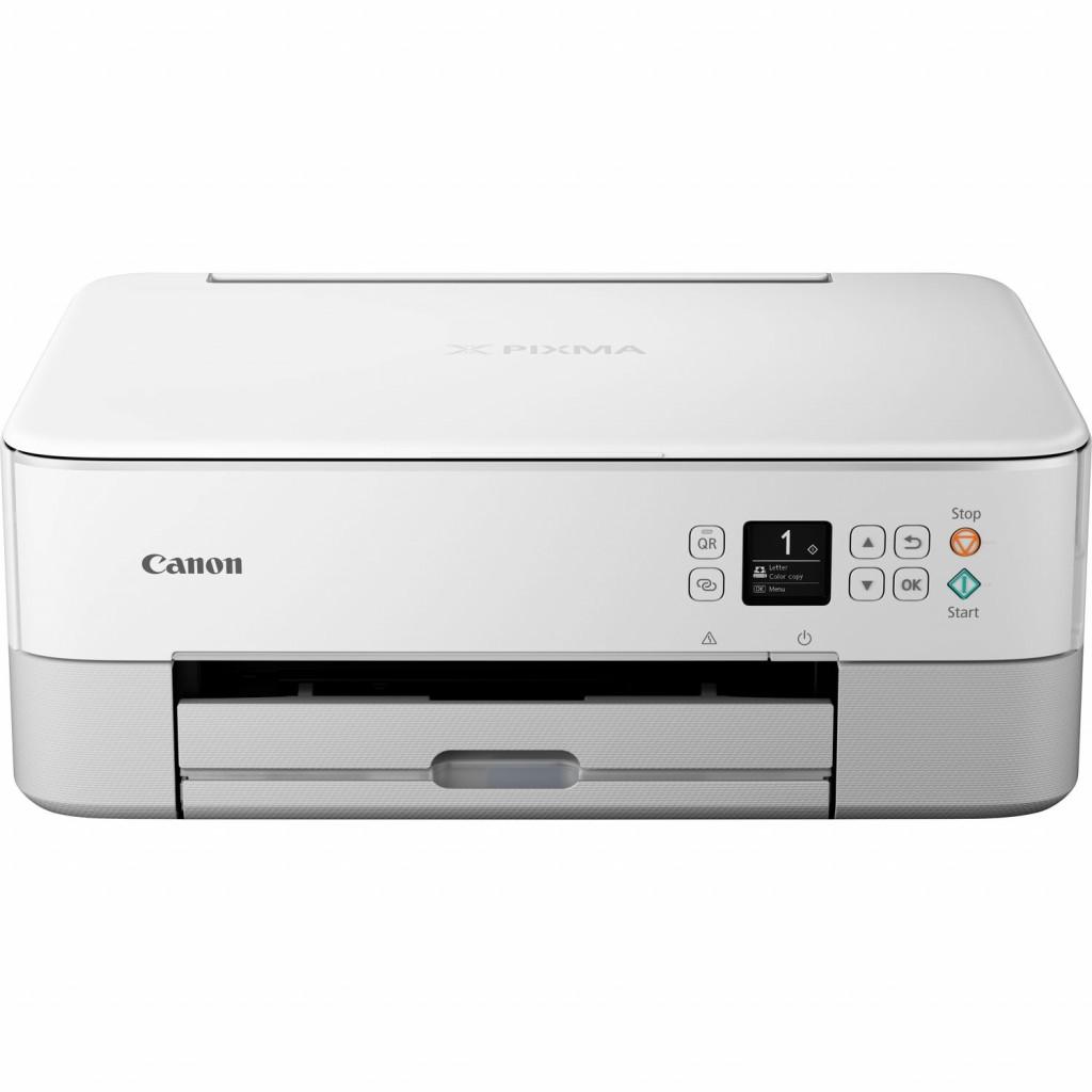 Canon PIXMA TS5351 EUR WHITE 3773C026 Colour, Inkjet, Multifunction Printer, A4, Wi-Fi, White