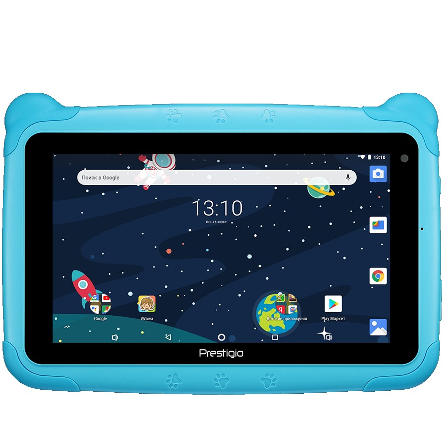 "Prestigio Smartkids, PMT3197_W_D, wifi, 7"" 1024*600 IPS display, up to 1.3GHz quad core processor, android 8.1(go edition), 1GB RAM+16GB ROM, 0.3MP front+2MP rear camera, 2500mAh battery"