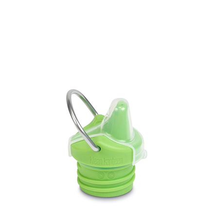 klean kanteen Kid Sport Cap 1000618 Green, Compatible with all Klean Kanteen Classic bottles