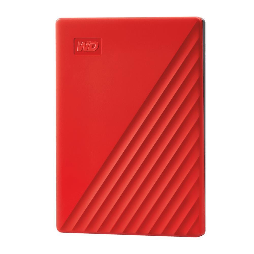 External HDD|WESTERN DIGITAL|My Passport|2TB|USB 2.0|USB 3.0|USB 3.2|Colour Red|WDBYVG0020BRD-WESN