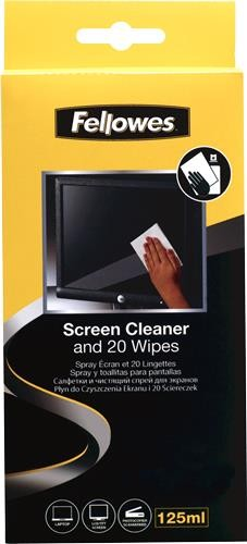 CLEANING KIT FOR SCREEN/99701 FELLOWES