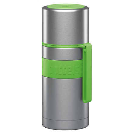 Boddels HEET Vacuum flask with cup Capacity 0.35 L, Material Stainless steel,  Apple green