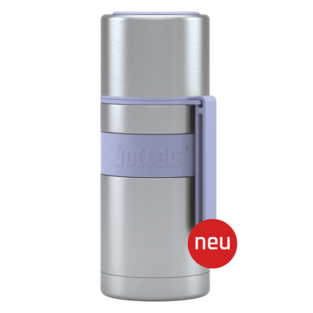 Boddels HEET Vacuum flask with cup Capacity 0.35 L, Material Stainless steel, Lavender blue