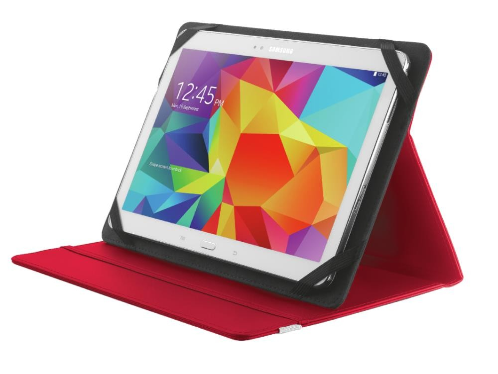 """TABLET SLEEVE FOLIO STAND 10""""/RED 20316 TRUST"""