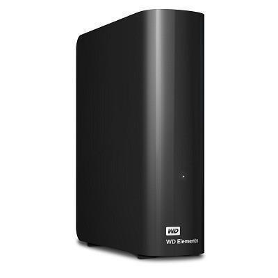 External HDD|WESTERN DIGITAL|Elements Desktop|10TB|USB 3.0|Black|WDBWLG0100HBK-EESN