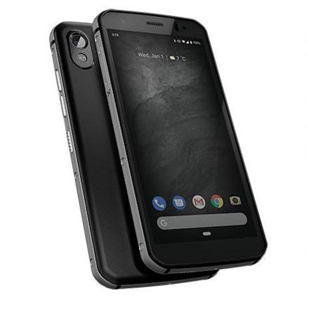 "CAT CAT S52 Black, 5.65 "", IPS, 720 x 1440 pixels, Mediatek MT6765 Helio P35, Internal RAM 4 GB, 64 GB, microSD, Dual SIM, Nano-SIM, 4G, Main camera 12 MP, Secondary camera 8 MP, Android, 9.0, 3100 mAh"