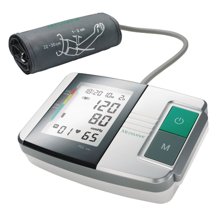 Medisana MTS 51152 White/Grey, Arm blood pressure monitor