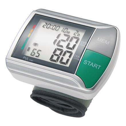 Medisana HGN White/Silver, Wrist Blood pressure monitor