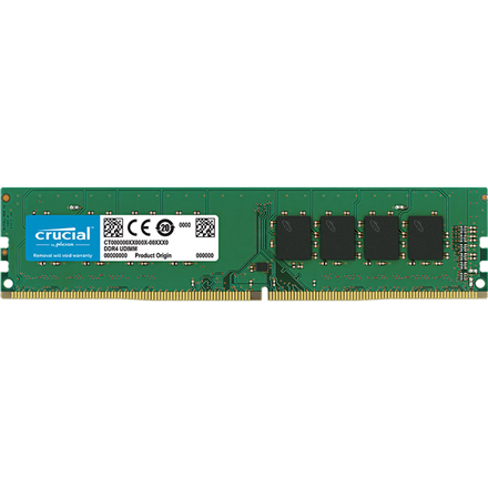Crucial 4 GB, DDR4, 2666  MHz, PC/server, Registered No, ECC No