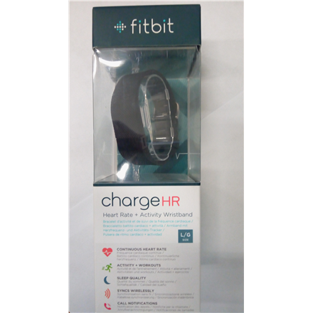 SALE OUT. Fitbit Charge HR, Large (Black)