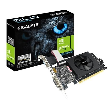 Gigabyte GV-N710D5-2GIL graafikakaart NVIDIA GeForce GT 710 2 GB GDDR5