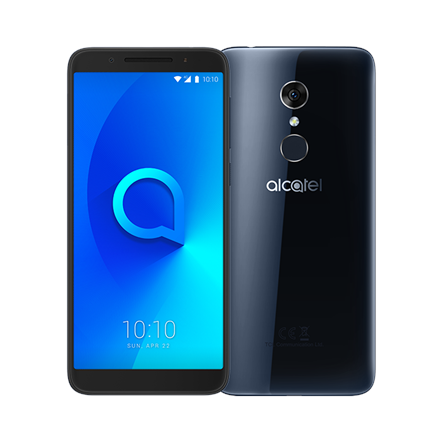 "Alcatel 3 Spectrum 5052D Black, 5.5 "", IPS LCD, 720 x 1440, Mediatek, MT6739, Internal RAM 2 GB, 16 GB, microSD, Dual SIM, Nano-SIM, 3G, 4G, Main camera 13 MP, Secondary camera 5 MP, Android, 8.0, 3000 mAh"