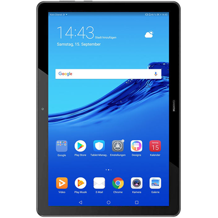 "Huawei MediaPad T5 10.1 "", Black, IPS LCD, 1920x1200, HiSilicon Kirin 659, 2 GB, 32 GB, Wi-Fi, Front camera, 2 MP, Rear camera, 5 MP, Bluetooth, 4.2, Android, 8.0"