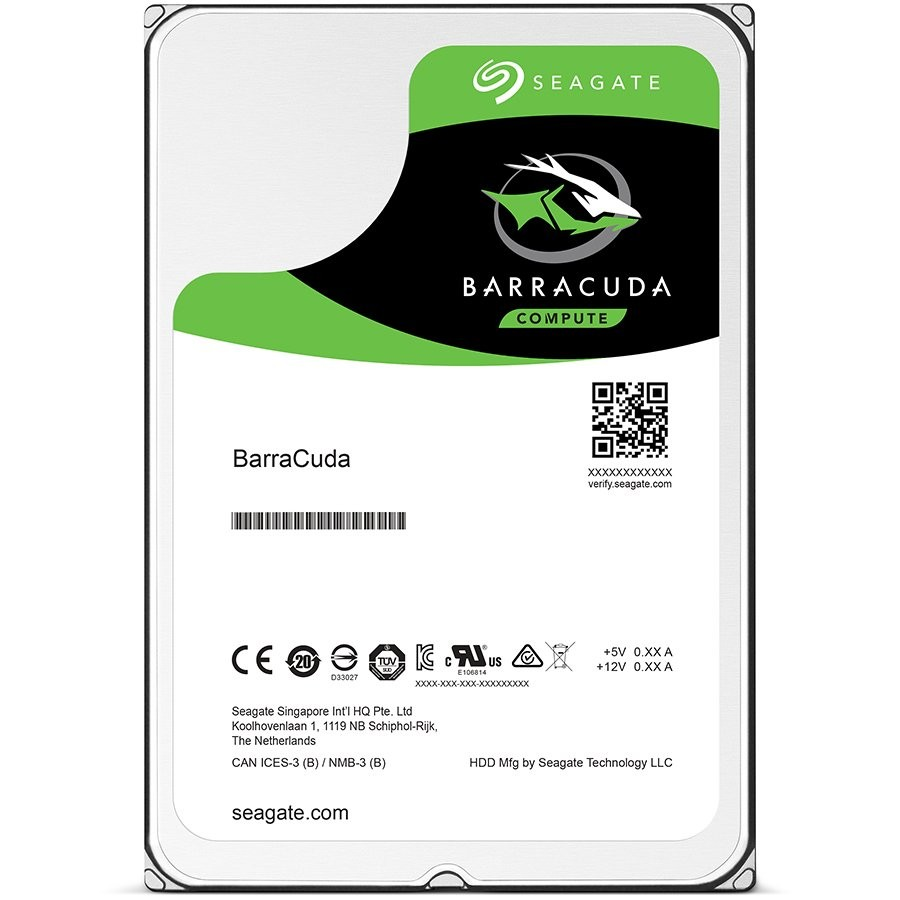 SEAGATE HDD Mobile Barracuda25 Guardian (2.5'/ 1TB/ SATA 6Gb/s/ rmp 5400)