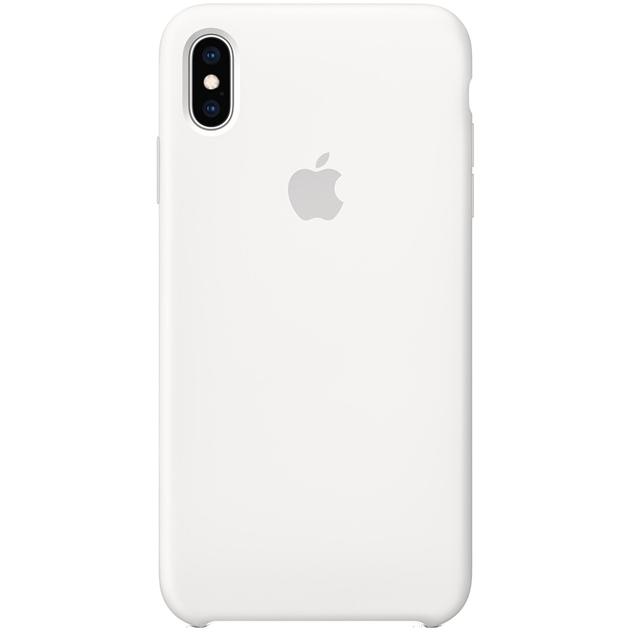 iPhone XS Max Silicone Case - White, Model