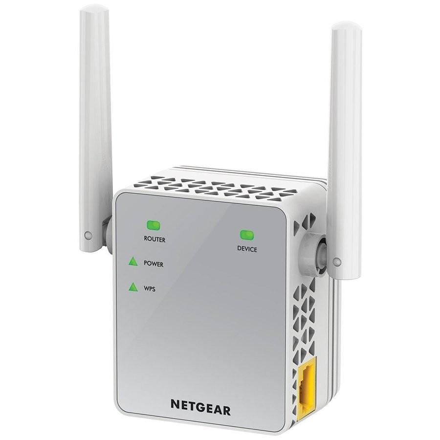 Netgear AC750 Wifi Range Extender- Essential Edition - 802.11n/ac, 1-port Wall Plug, External Antennas