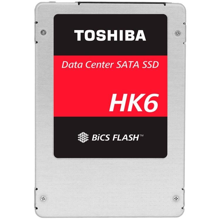 SSD TOSHIBA HK6-R Enterprise 960GB, SATA 6 Gb/s, BiCS FLASH™ TLC,  2.5in, 7MM,   550/530, IOPS 85/22 K, MTBF 2M, TLC, 1 DWPD, Bulk