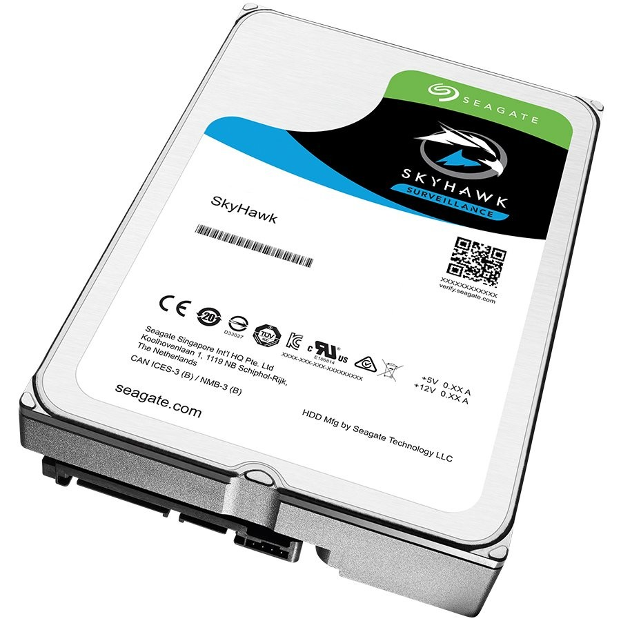 "SEAGATE HDD Desktop SkyHawk Guardian Surveillance (3.5""/4TB/SATA 6Gb/s/rpm 5900)"