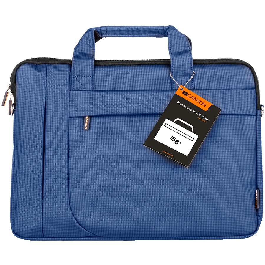 CANYON B-3 Fashion toploader Bag for 15.6'' laptop, Blue