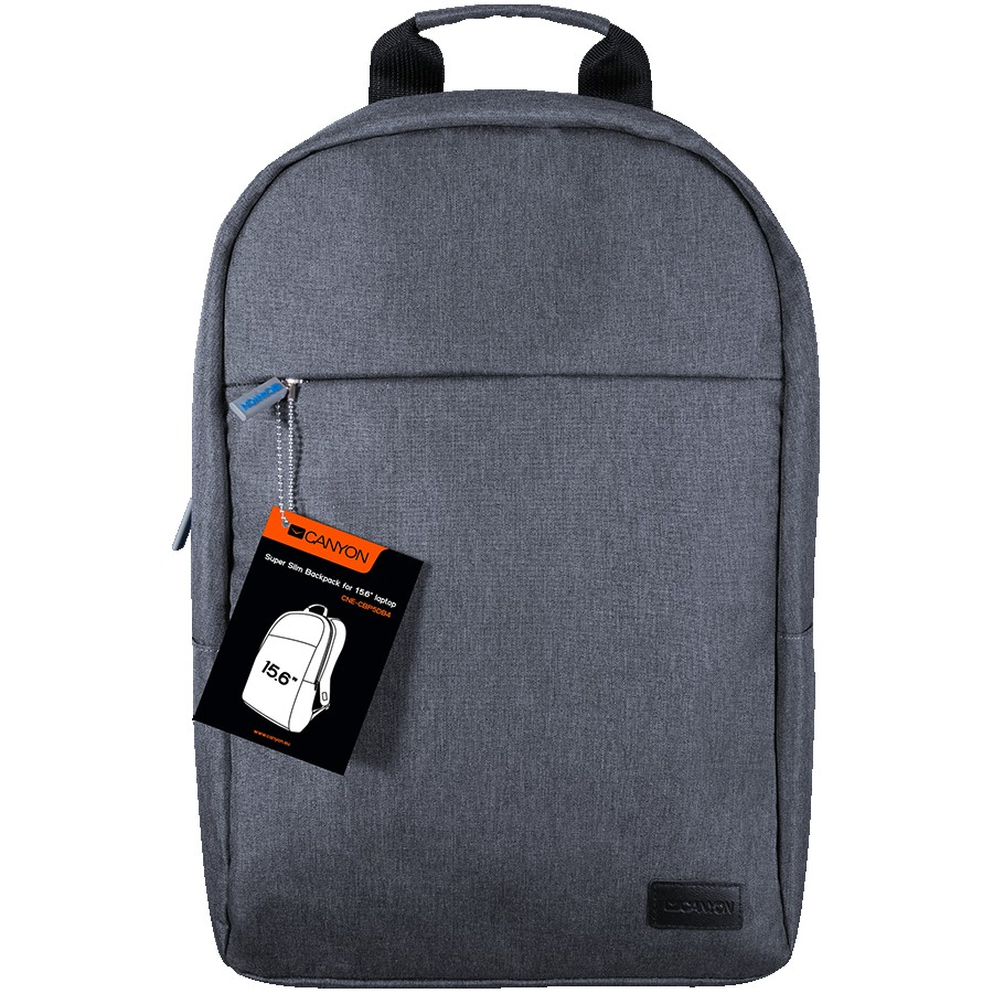 CANYON BP-4 Backpack for 15.6'' laptop, material 300D polyeste, Blue, 450*285*85mm,0.5kg,capacity 12L