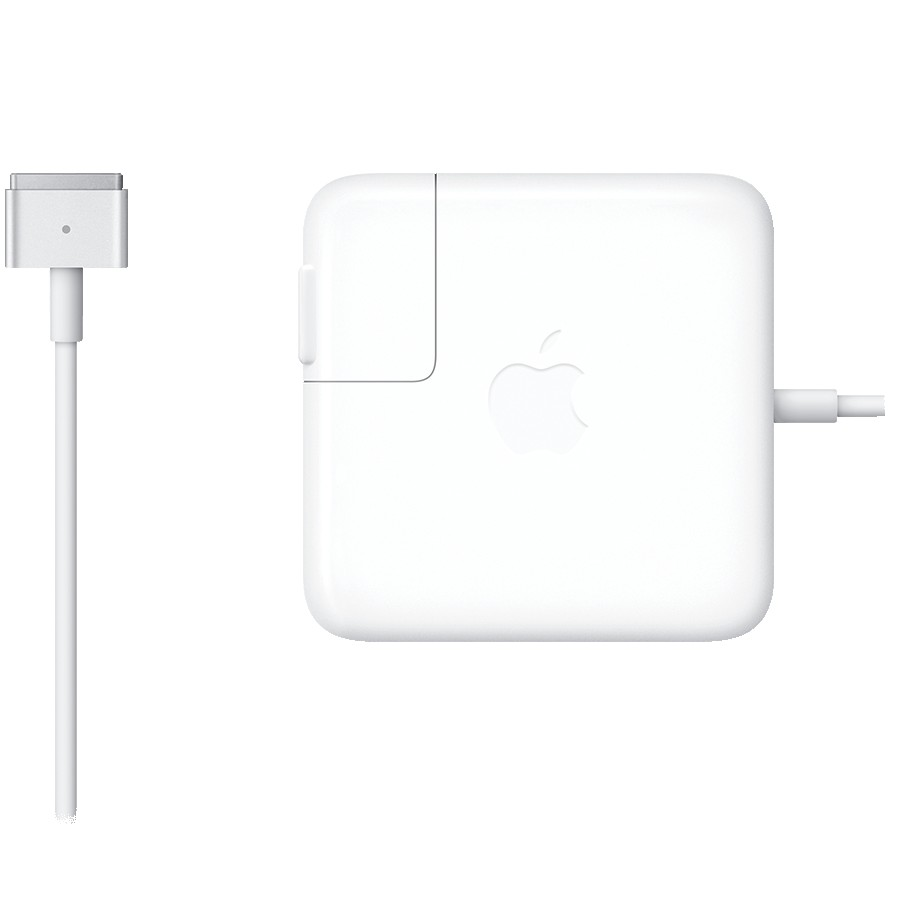 Apple 45W MagSafe 2 Power Adapter, Model: A1436
