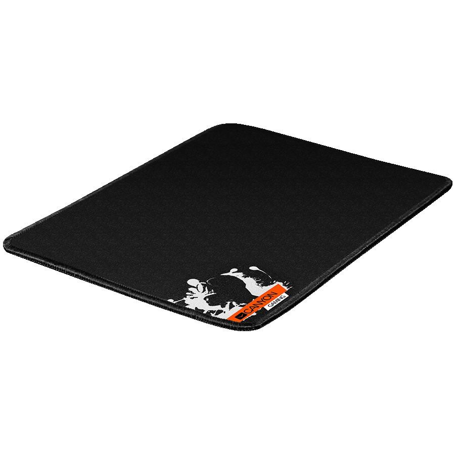 CANYON MP-2 Gaming Mouse Pad, 270x210x3mm, 0.1kg, Black
