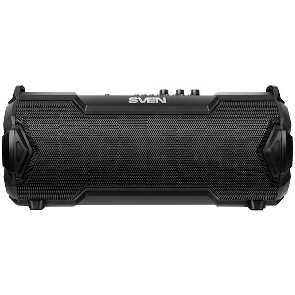 Speaker SVEN PS-475, (EU), black (30W, Bluetooth, FM, USB, microSD, LED-display, 2000mA*h), SV-018139