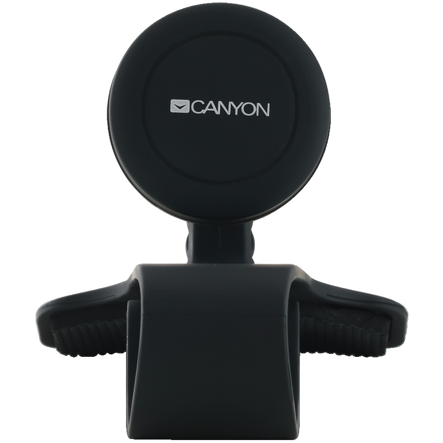 Canyon CH-10 Car Holder for Smartphones,magnetic suction function ,with 2 plates(rectangle/circle), black ,115*83*100mm 0.072kg