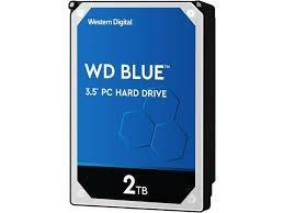"HDD|WESTERN DIGITAL|Blue|2TB|SATA 3.0|256 MB|5400 rpm|3,5""|WD20EZAZ"