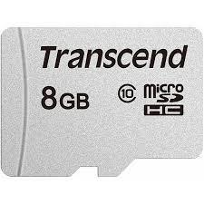 MEMORY MICRO SDHC 8GB/CLASS10 TS8GUSD300S TRANSCEND