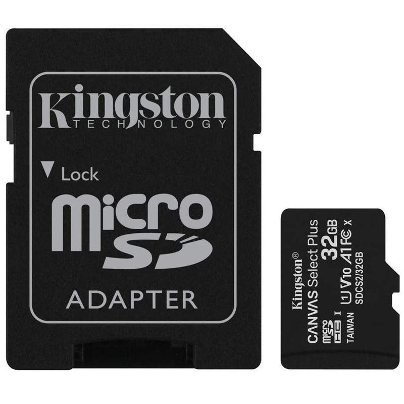 MEMORY MICRO SDHC 32GB UHS-I/W/ADAPTER SDCS2/32GB KINGSTON