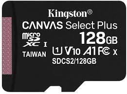 MEMORY MICRO SDXC 128GB UHS-I/W/ADAPTER SDCS2/128GB KINGSTON
