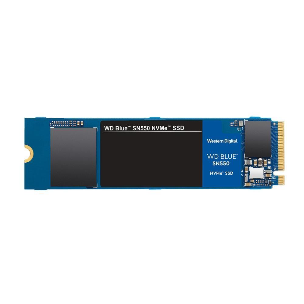 SSD|WESTERN DIGITAL|BLUE SN550|500GB|M.2|PCIE|NVMe|TLC|Write speed 1750 MBytes/sec|Read speed 2400 MBytes/sec|2.38mm|TBW 200 TB|MTBF 1700000 hours|WDS500G2B0C