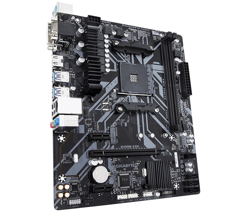 GIGABYTE B450M S2H AMD