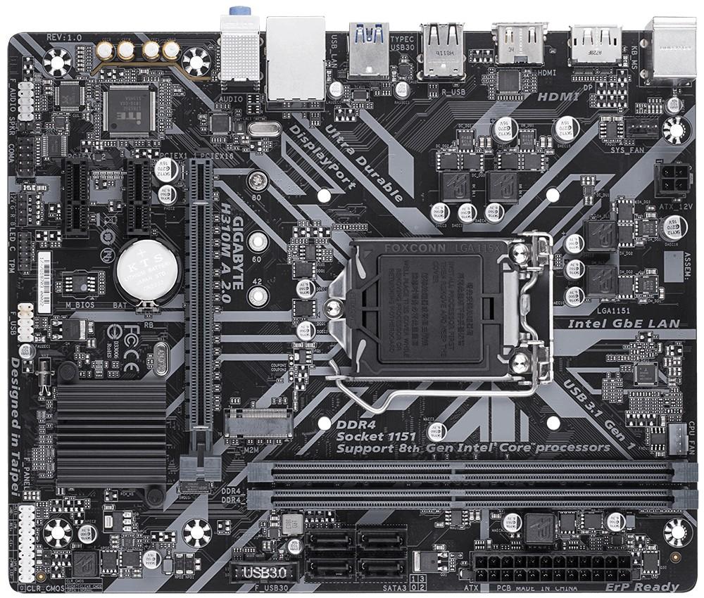 GIGABYTE H310M A 2.0 LGA1151v2
