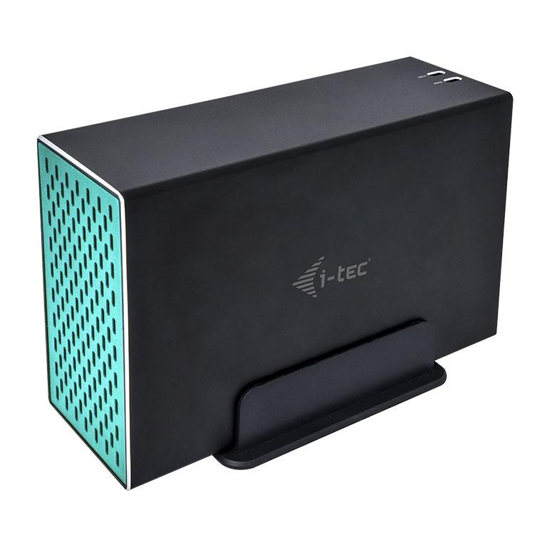 I-TEC 3.0/USB-C Enclosure Dual 8.9cm
