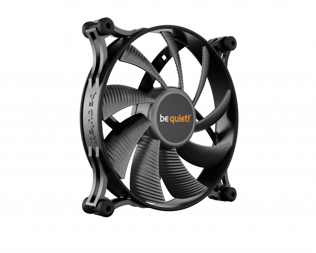 be quiet! Shadow Wings 2 140mm PWM Arvuti korpus Ventilaator 14 cm Must