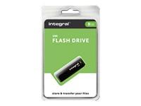 INTEGRAL Pendrive USB2.0 8GB black
