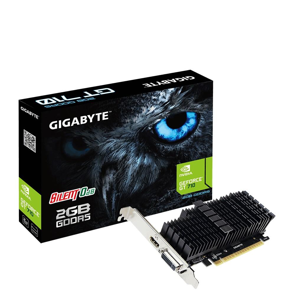 GIGABYTE GeForce GT 710 2GB GDDR5 LP