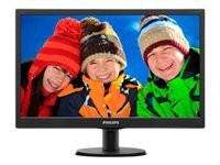 PHILIPS Monitor 19.5i LED VGA DVI Audio