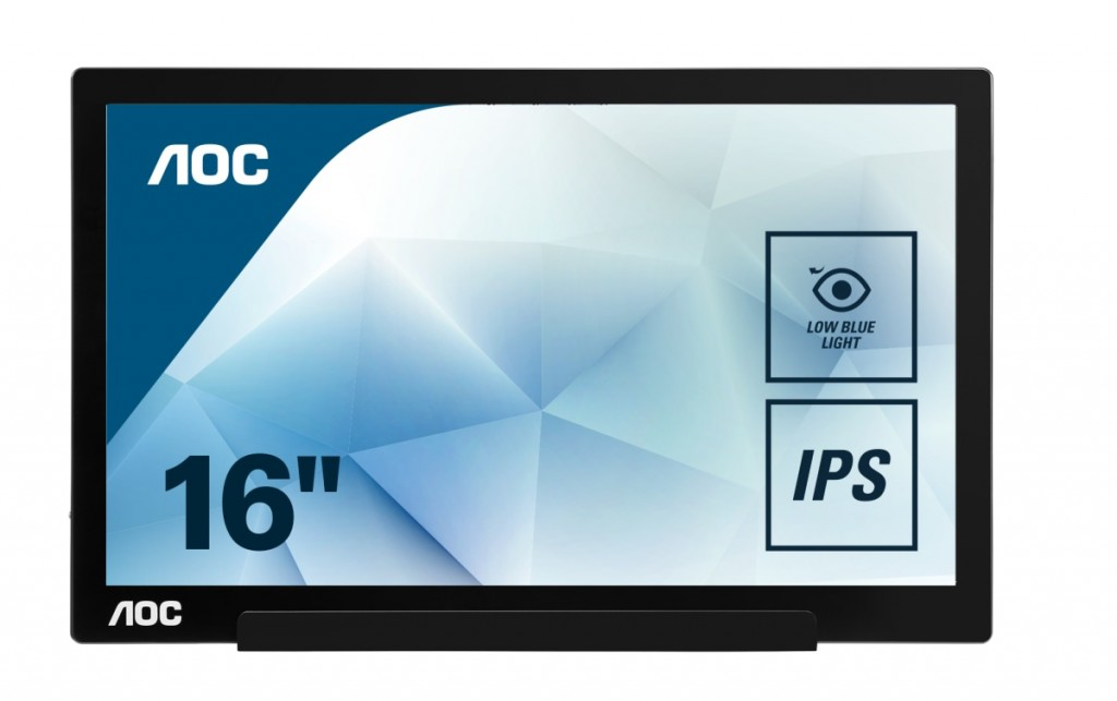 AOC I1601FWUX 15.6inch USB-C DISPLAY FHD