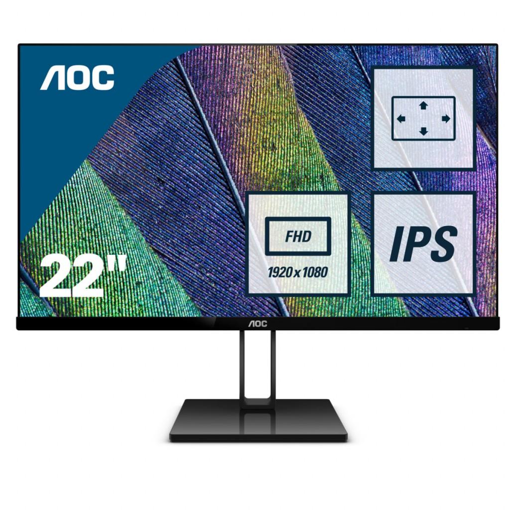 AOC 22V2Q 22inch Display