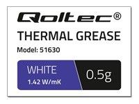 QOLTEC 51630 Qoltec Thermal paste 1.42 W