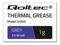 QOLTEC 51635 Qoltec Thermal paste 2.5 W/