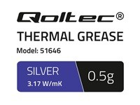 QOLTEC 51646 Qoltec Thermal paste 3.17 W